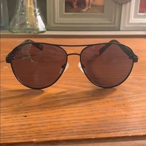 Calvin Klein sunglasses and case/lens cloth